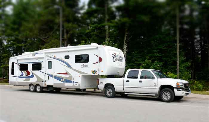 Fifth Wheel RV explained with image