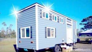 Brand new shiny tiny house