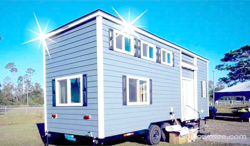 Brand new shiny tiny house
