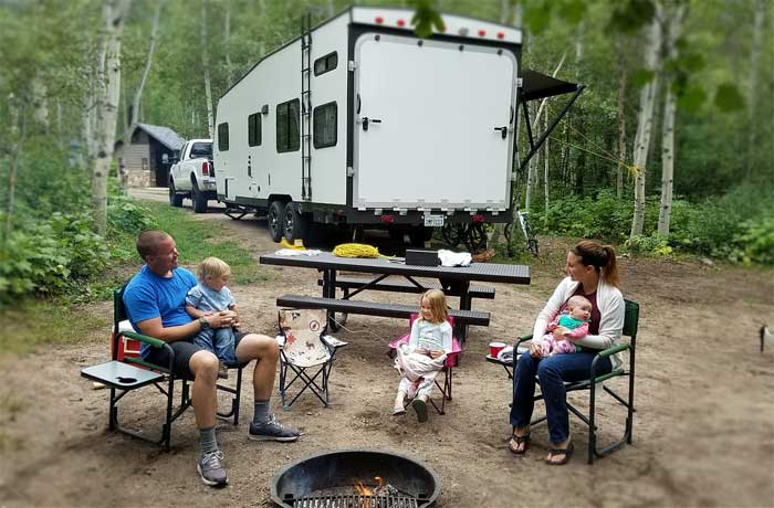 RVing with kids and toddlers