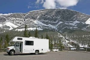 RV battery freezing in winter time