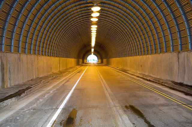 RVs in tunnels (rules and regulations)