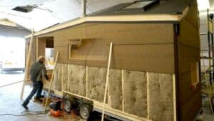 insulation on a tiny house