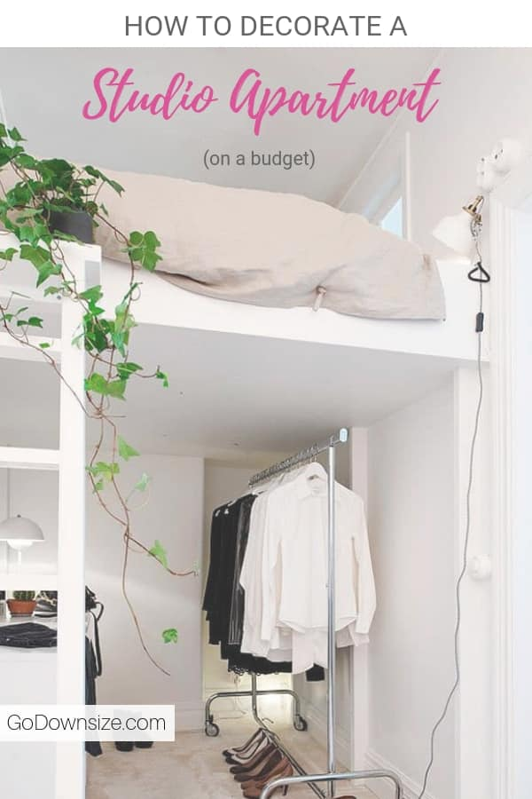 35 Ways To Space Optimize A Studio Apartment On A Budget