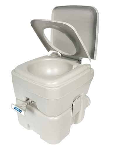 Dry toilet for tiny houses on wheels