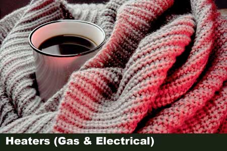 Gas and Electrical heaters