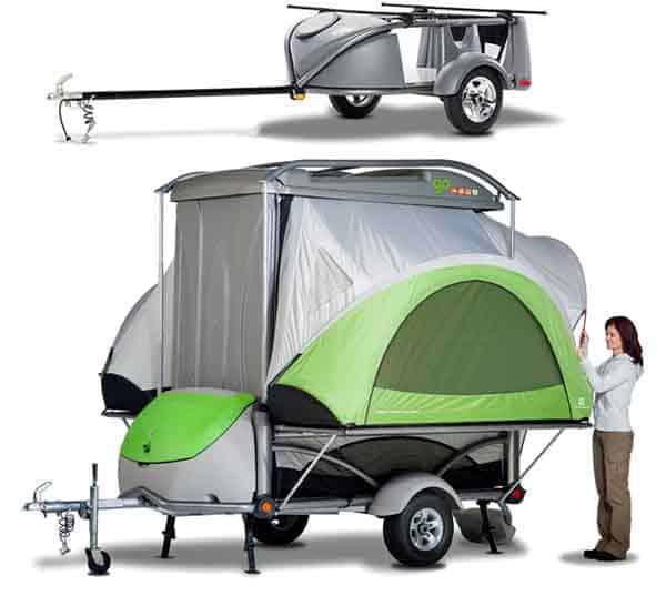 Go-easy camper tent