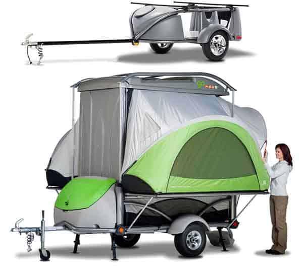 Go-easy camper tent