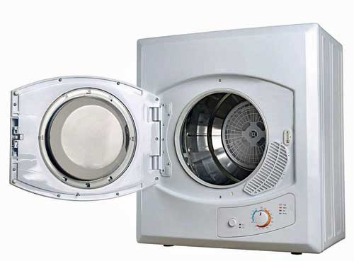 Compact dryer for small apartments