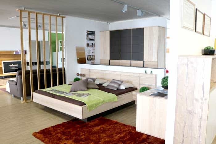 Another example of a studio apartment layout design