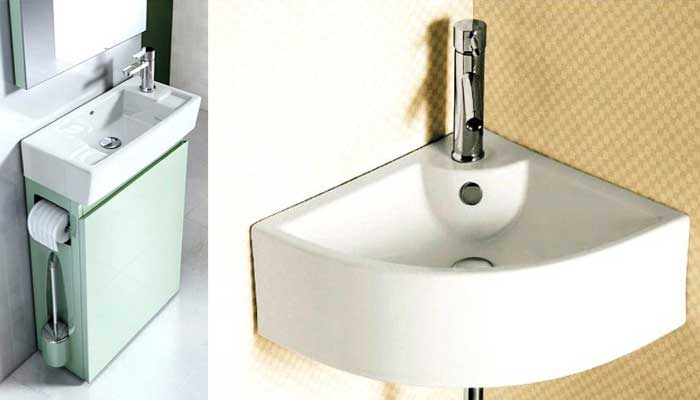 Studio apartment sink solutions for the toilet