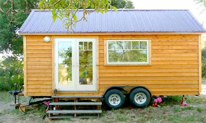 Tiny house on trailer (architect designed)