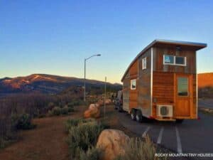 Tiny houses designed by Rocky Mountains