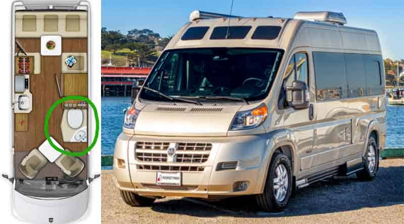 10 Best Campervans Rvs With Toilets Everything You Need
