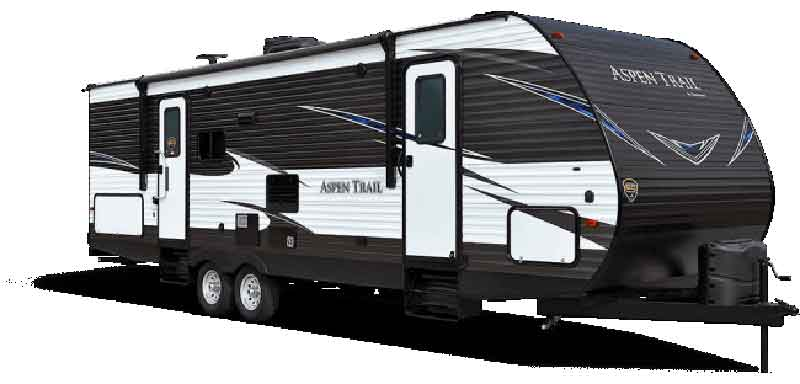 Aspen Trail with high ceiling camper