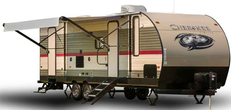 Cherokee high ceiling camper trailer