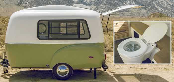 14 Very Small Campers With Toilets (With Pictures)