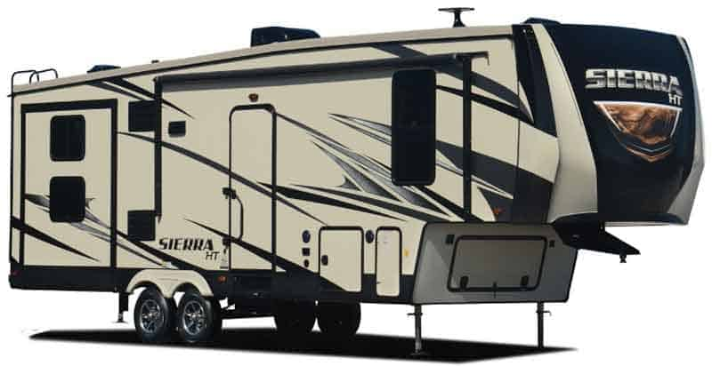 Tall model from Sierra Fifth Wheel