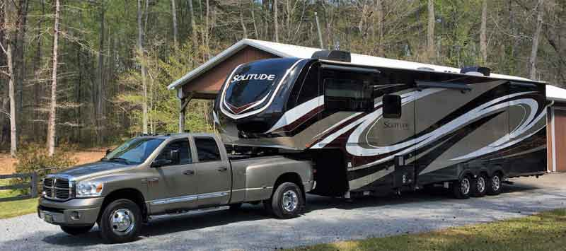Solitude 372WB fifth wheel