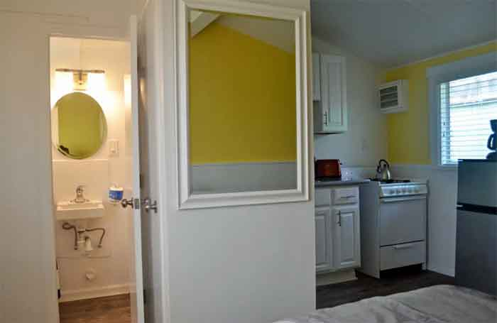 This San Go Studio Apartment Is An Example Of A Small Home That Was Converted To Units Very But Feels Open Because The