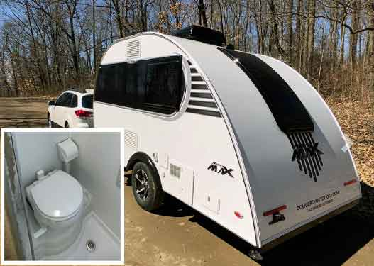 Mini Max Teardrop Trailer With Toilet And Wetroom