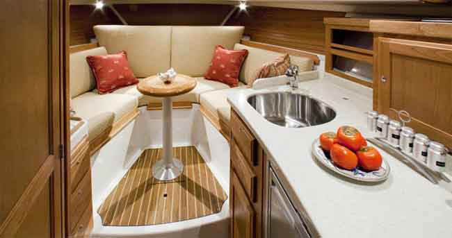 6 Affordable Boats With Great Kitchen Spaces With Pictures